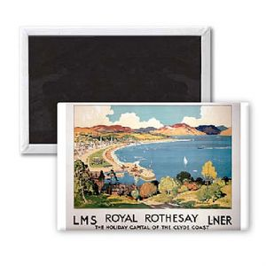 Royal Rothesay fridge magnet   (se)